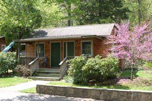 About brookside cabin rentals near luray caverns skyline for Brookside cottages